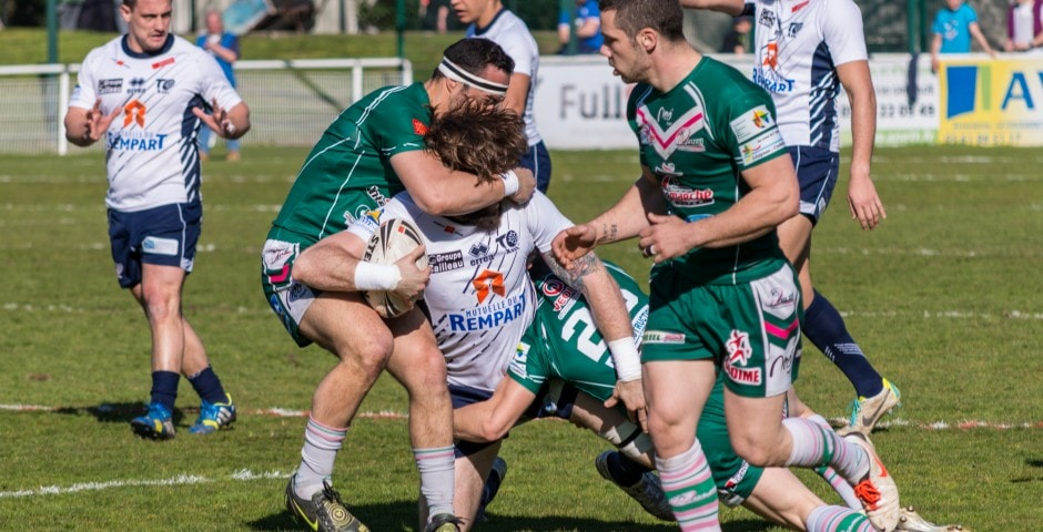 Photo de rugby à XIII – TOULOUSE LEZIGNAN 42