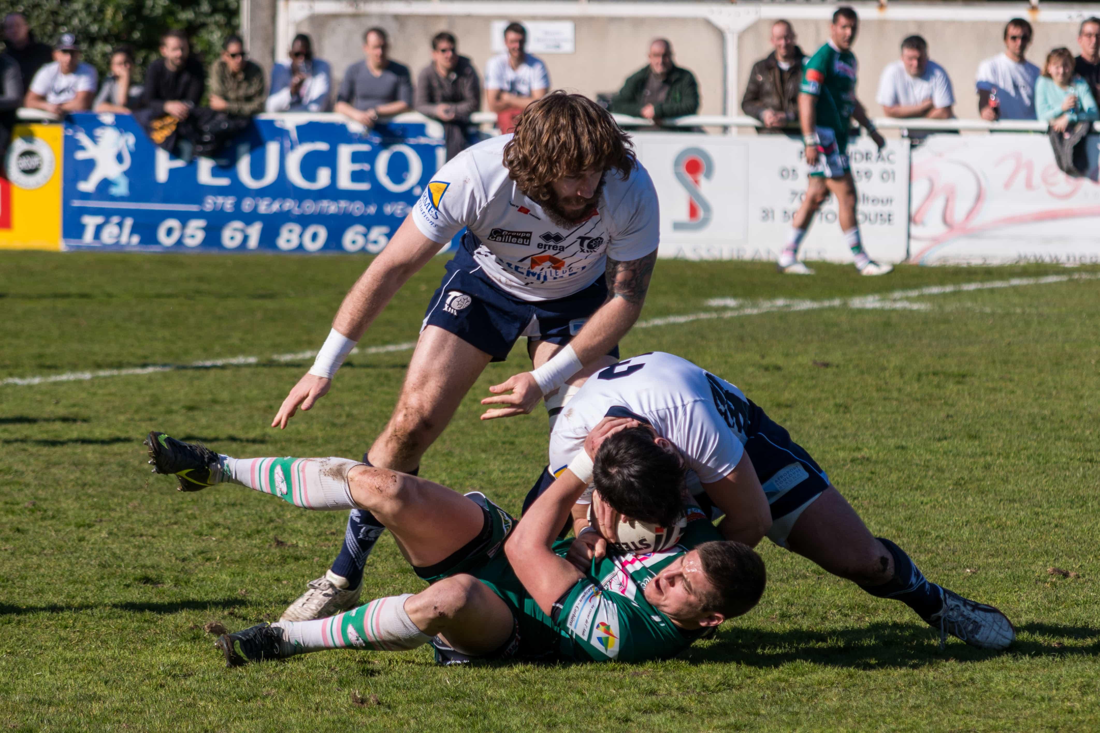 Photo de rugby à XIII – TOULOUSE LEZIGNAN 38
