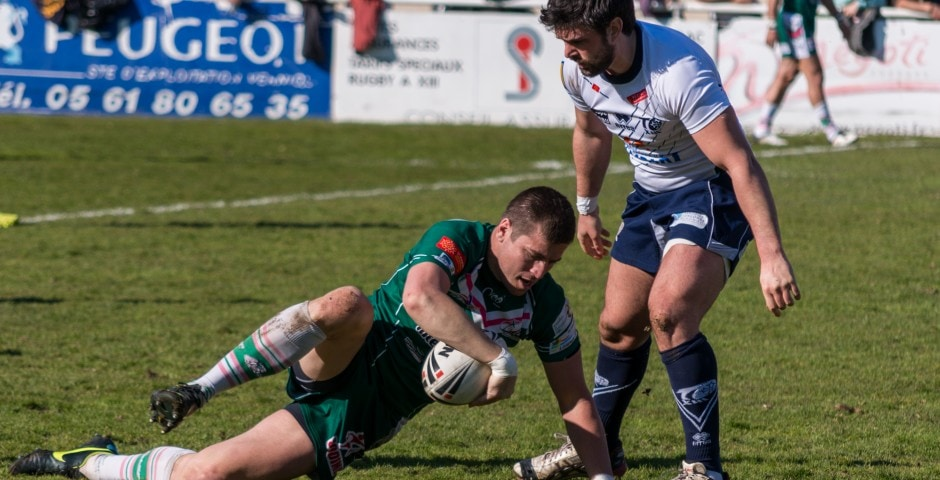 Photo de rugby à XIII – TOULOUSE LEZIGNAN 37