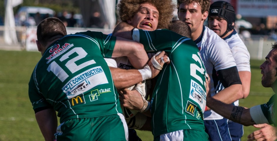 Photo de rugby à XIII – TOULOUSE LEZIGNAN 34