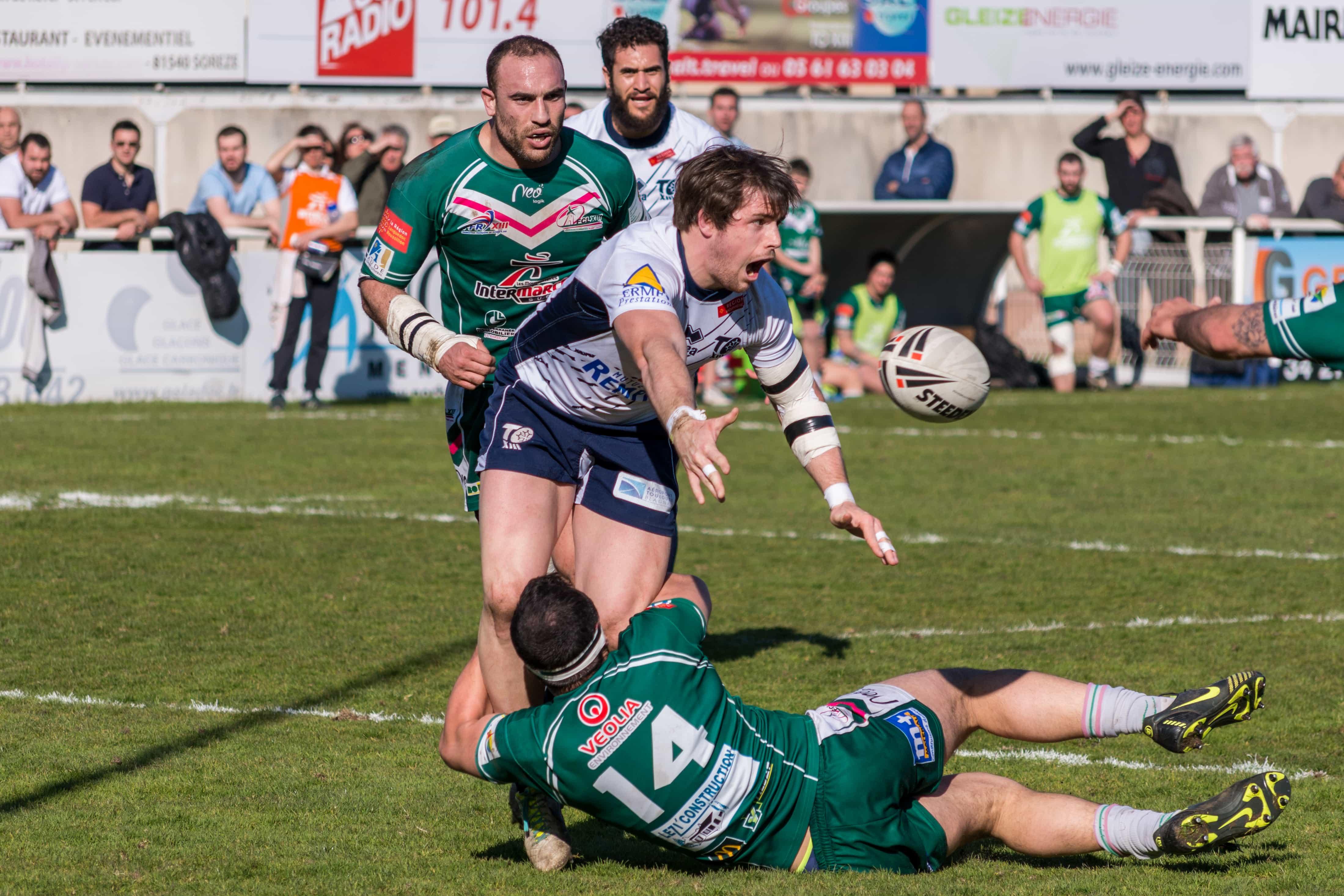 Photo de rugby à XIII – TOULOUSE LEZIGNAN 27