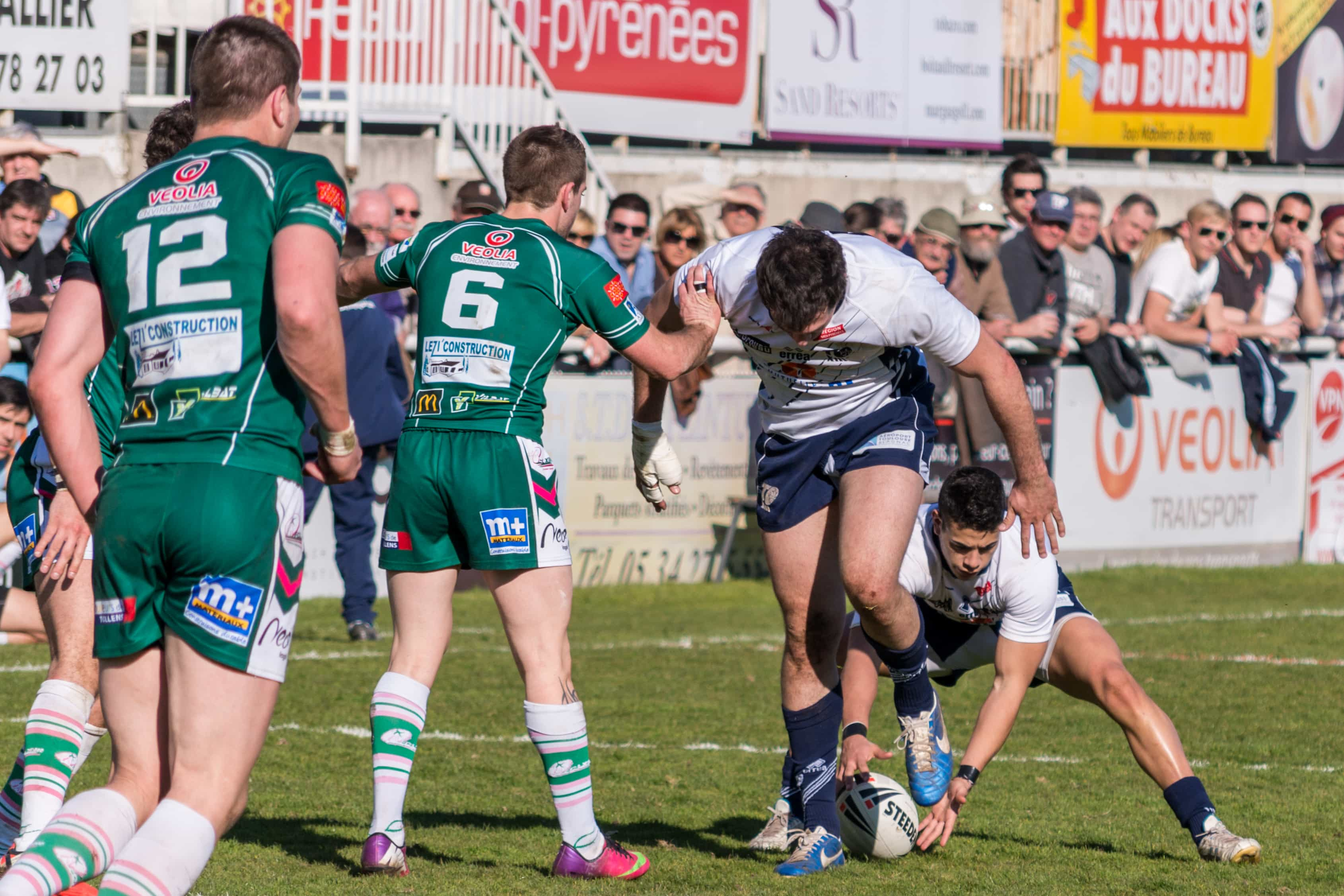 Photo de rugby à XIII – TOULOUSE LEZIGNAN 26