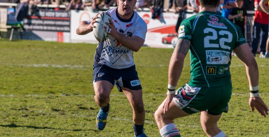 Photo de rugby à XIII – TOULOUSE LEZIGNAN 16