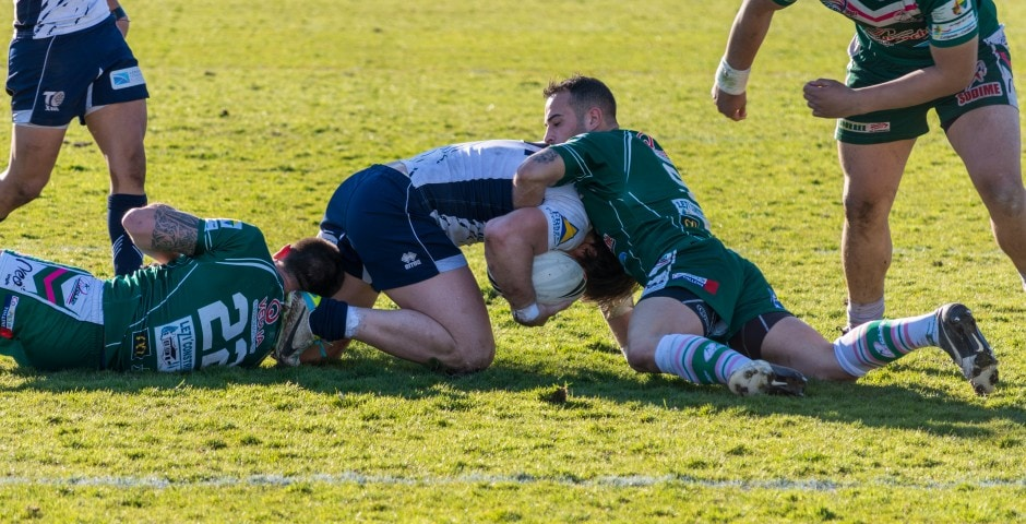 Photo de rugby à XIII – TOULOUSE LEZIGNAN 14