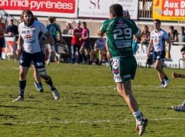 Photos de rugby à XIII - Toulouse contre Lezignan