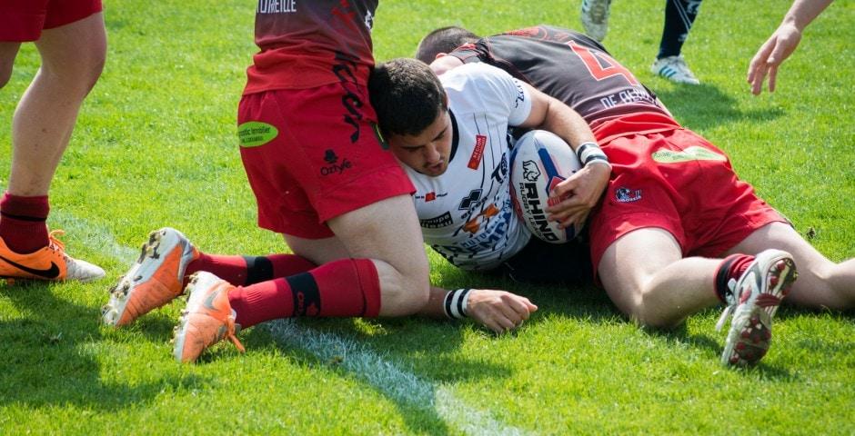 Photo de la finale de la coupe de France Junior de Rugby à XIII : Toulouse - Limoux 21
