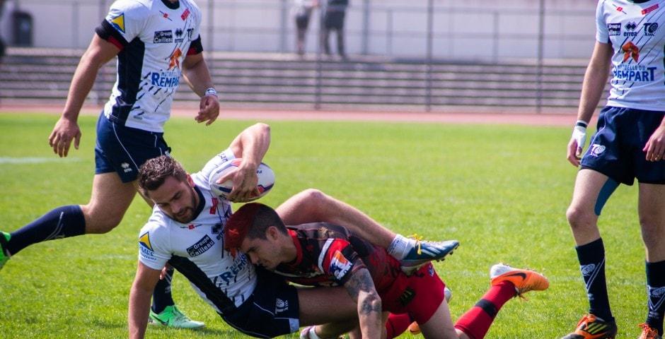 Photo de la finale de la coupe de France Junior de Rugby à XIII : Toulouse - Limoux 20