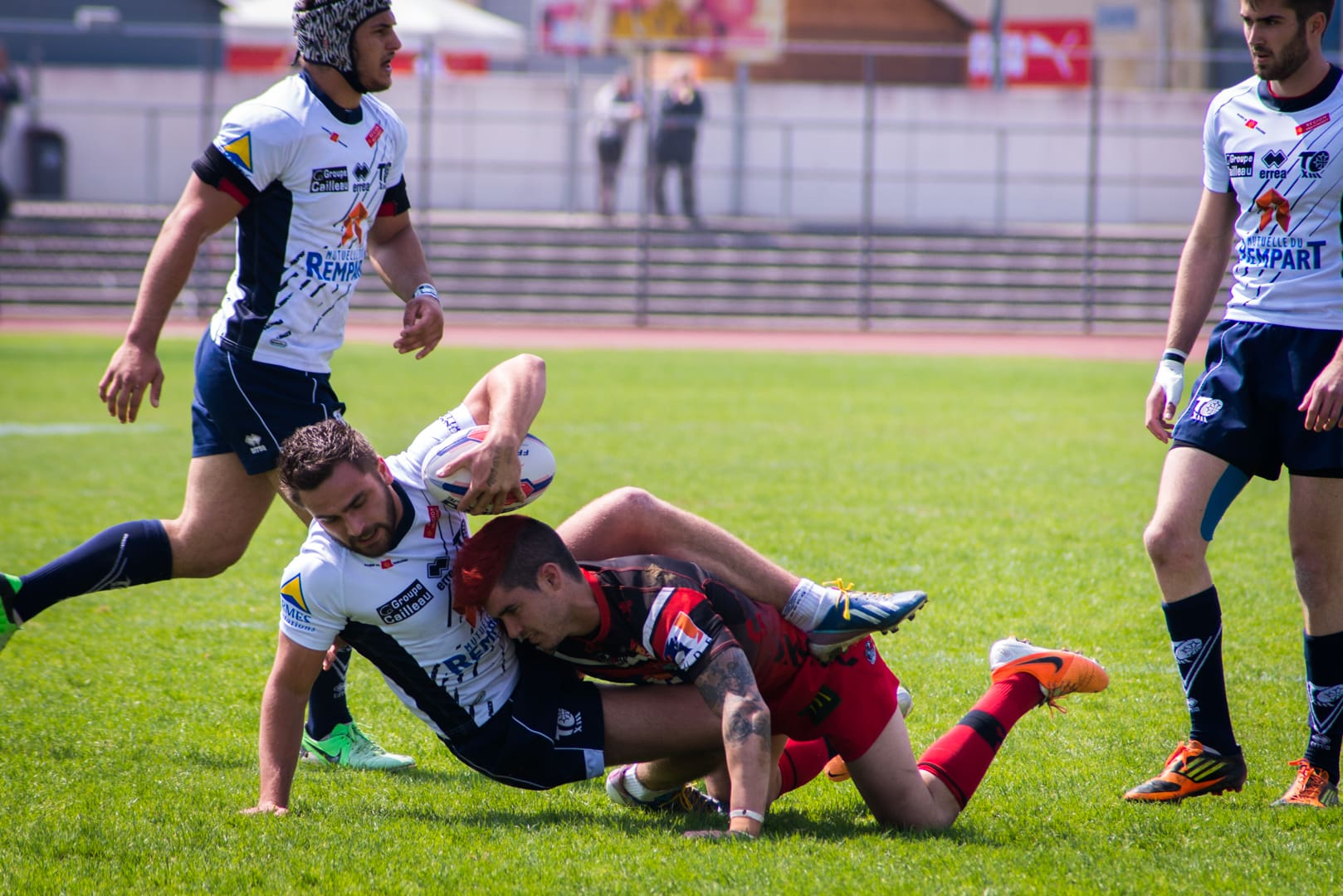 Photo de la finale de la coupe de France Junior de Rugby à XIII : Toulouse - Limoux 20