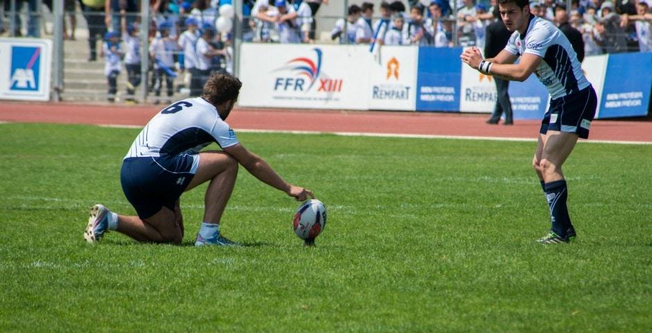 Photo de la finale de la coupe de France Junior de Rugby à XIII : Toulouse - Limoux 18