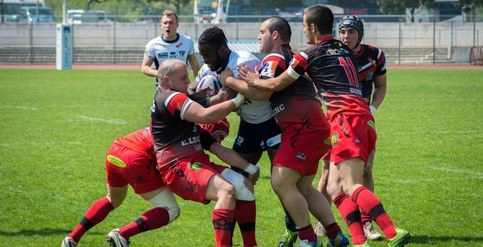 Photo de la finale de la coupe de France Junior de Rugby à XIII : Toulouse - Limoux 17