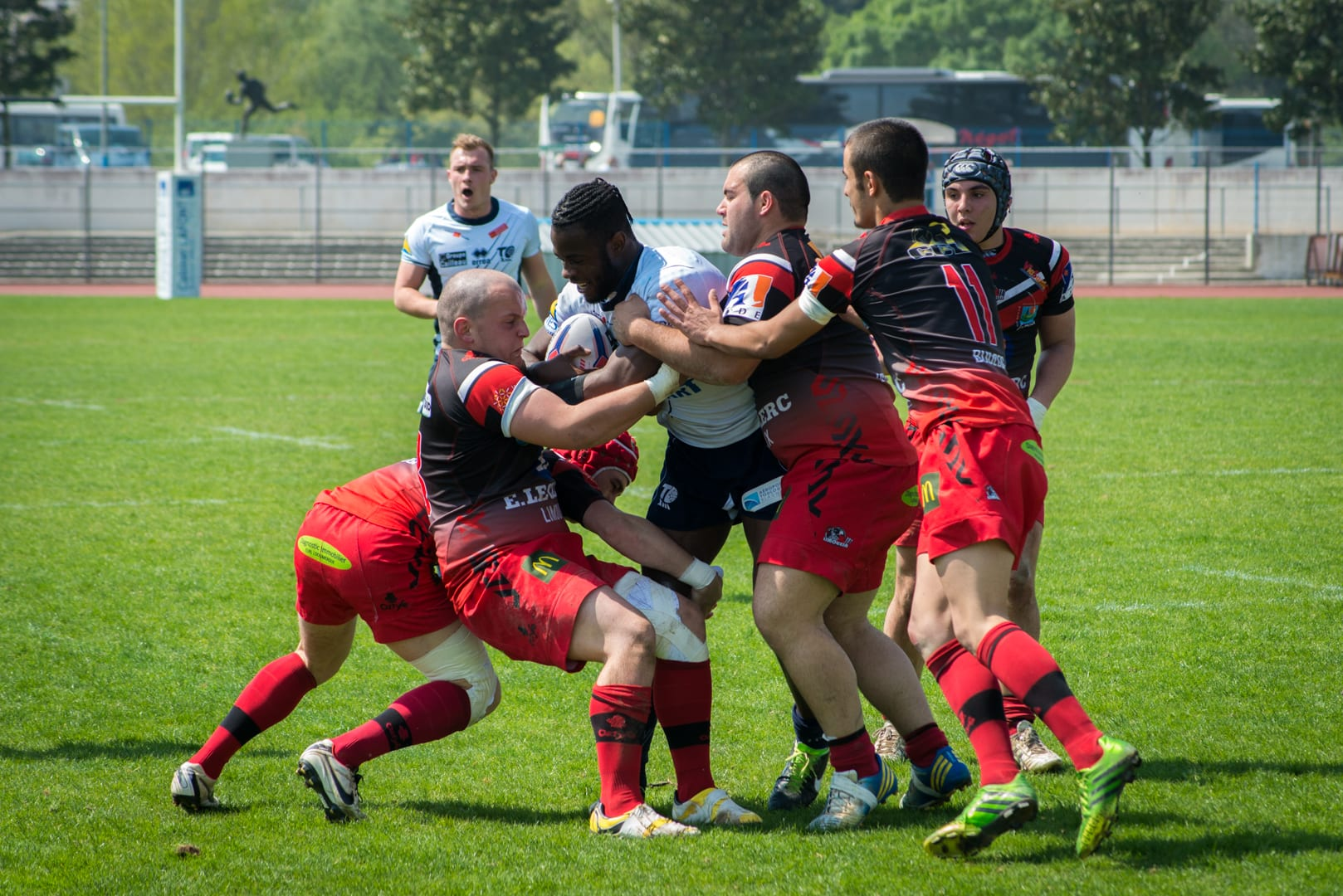 Photo de la finale de la coupe de France Junior de Rugby à XIII : Toulouse - Limoux 17