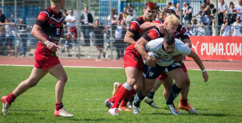 Photo de la finale de la coupe de France Junior de Rugby à XIII : Toulouse - Limoux 16