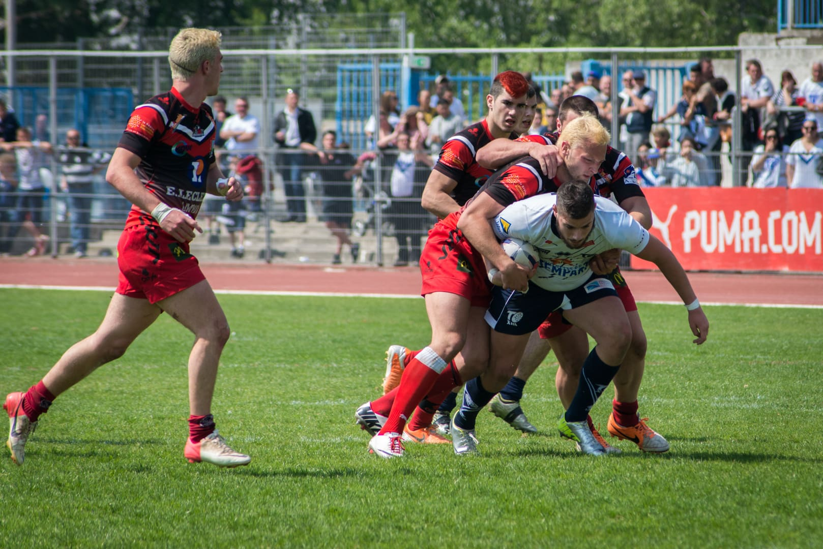 Photo de la finale de la coupe de France Junior de Rugby à XIII : Toulouse - Limoux 16