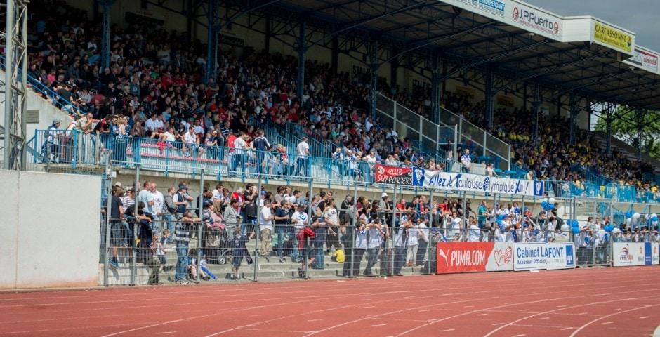 Photo de la finale de la coupe de France Junior de Rugby à XIII : Toulouse - Limoux 14