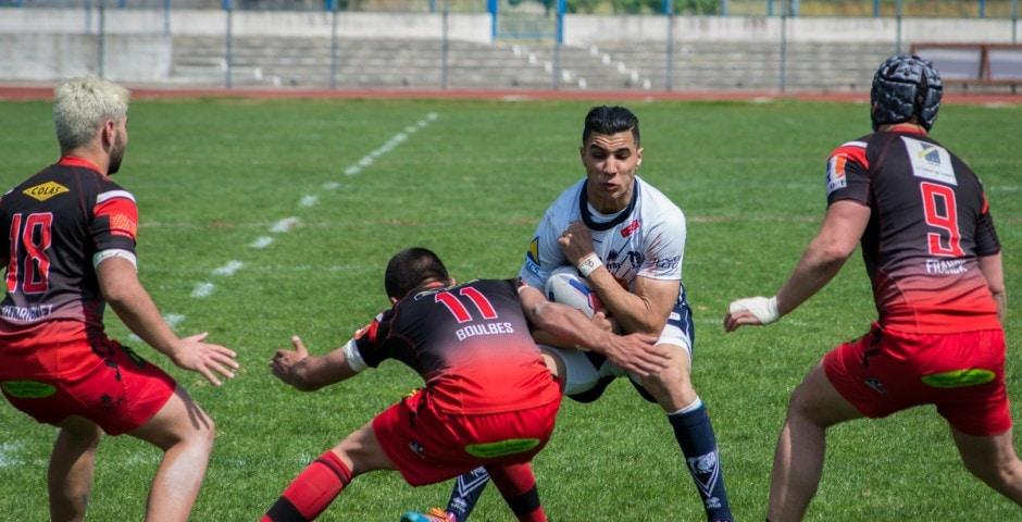 Photo de la finale de la coupe de France Junior de Rugby à XIII : Toulouse - Limoux 12