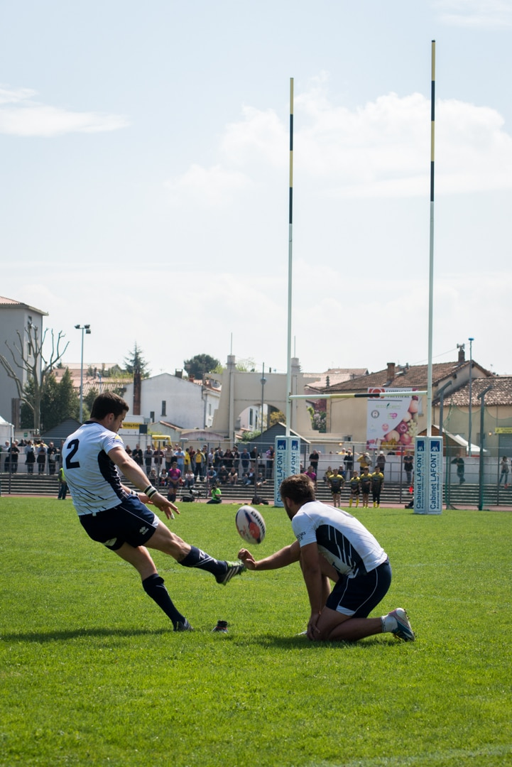 Photo de la finale de la coupe de France Junior de Rugby à XIII : Toulouse - Limoux 11