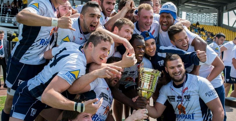 Photo de la finale de la coupe de France Junior de Rugby à XIII : Toulouse - Limoux 6