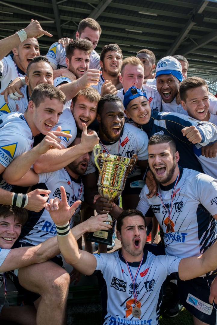 Photo de la finale de la coupe de France Junior de Rugby à XIII : Toulouse - Limoux 5