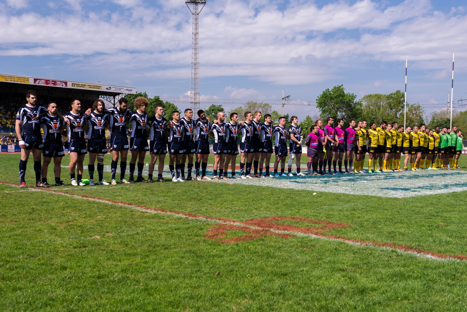 Photo de la finale de la coupe de France de Rugby à XIII : Toulouse - Carcassonne 24