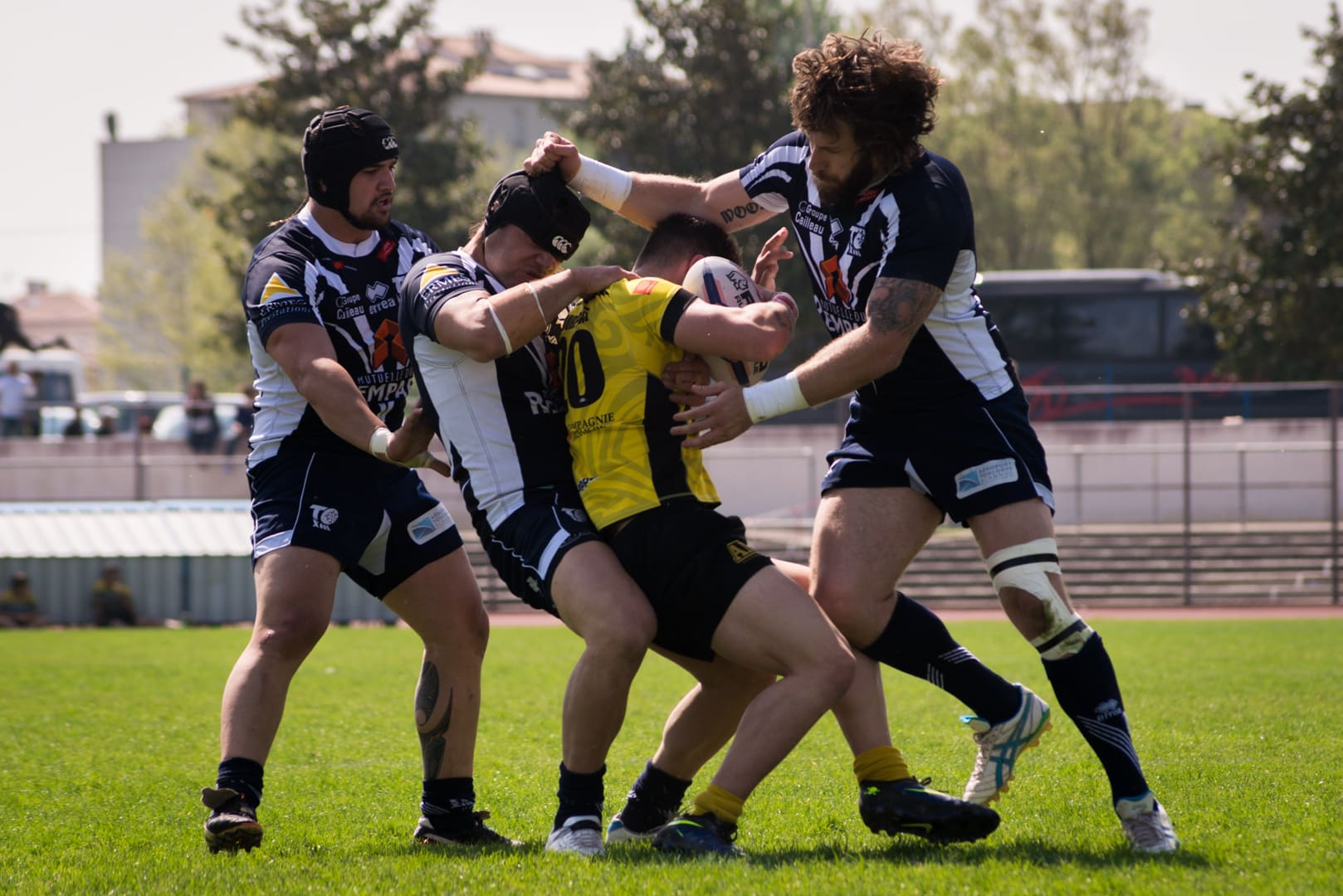 Photo de la finale de la coupe de France de Rugby à XIII : Toulouse - Carcassonne 23