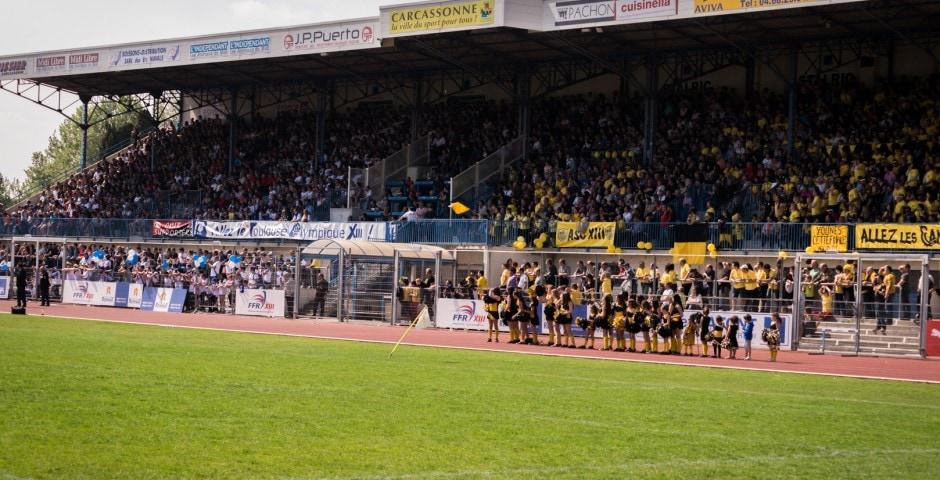 Photo de la finale de la coupe de France de Rugby à XIII : Toulouse - Carcassonne 22