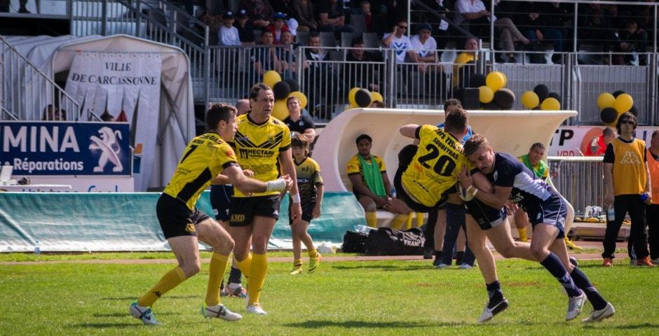 Photo de la finale de la coupe de France de Rugby à XIII : Toulouse - Carcassonne 21