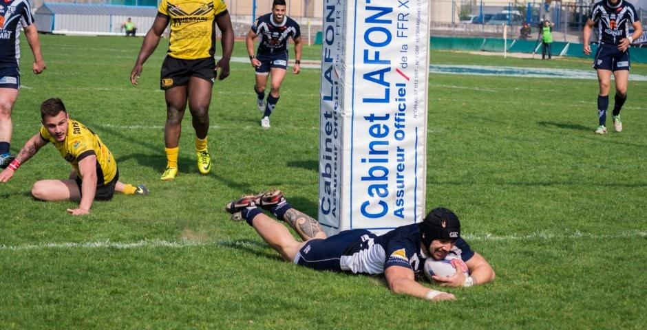 Photo de la finale de la coupe de France de Rugby à XIII : Toulouse - Carcassonne 18