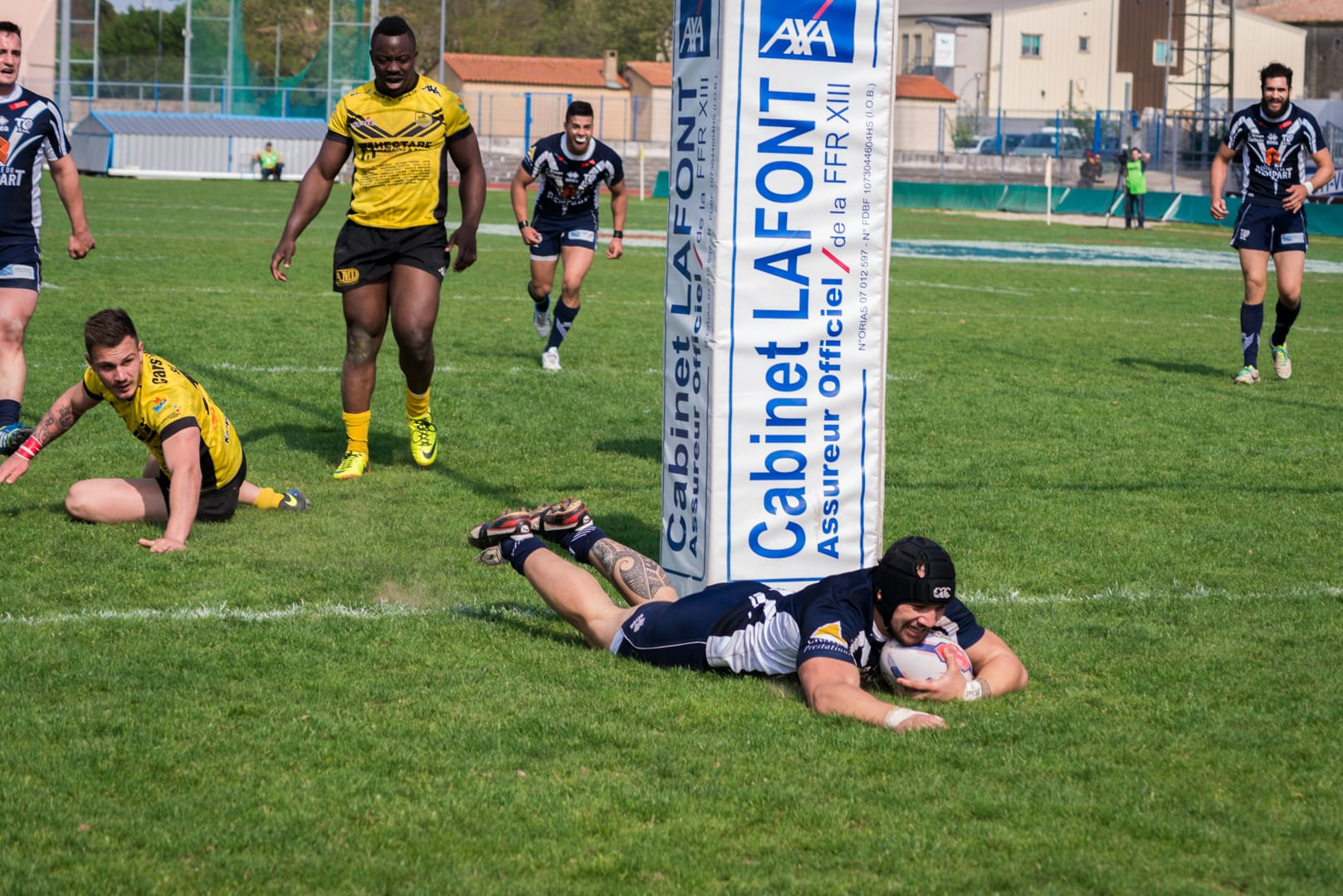 Photo de la finale de la coupe de France de Rugby à XIII : Toulouse - Carcassonne 18