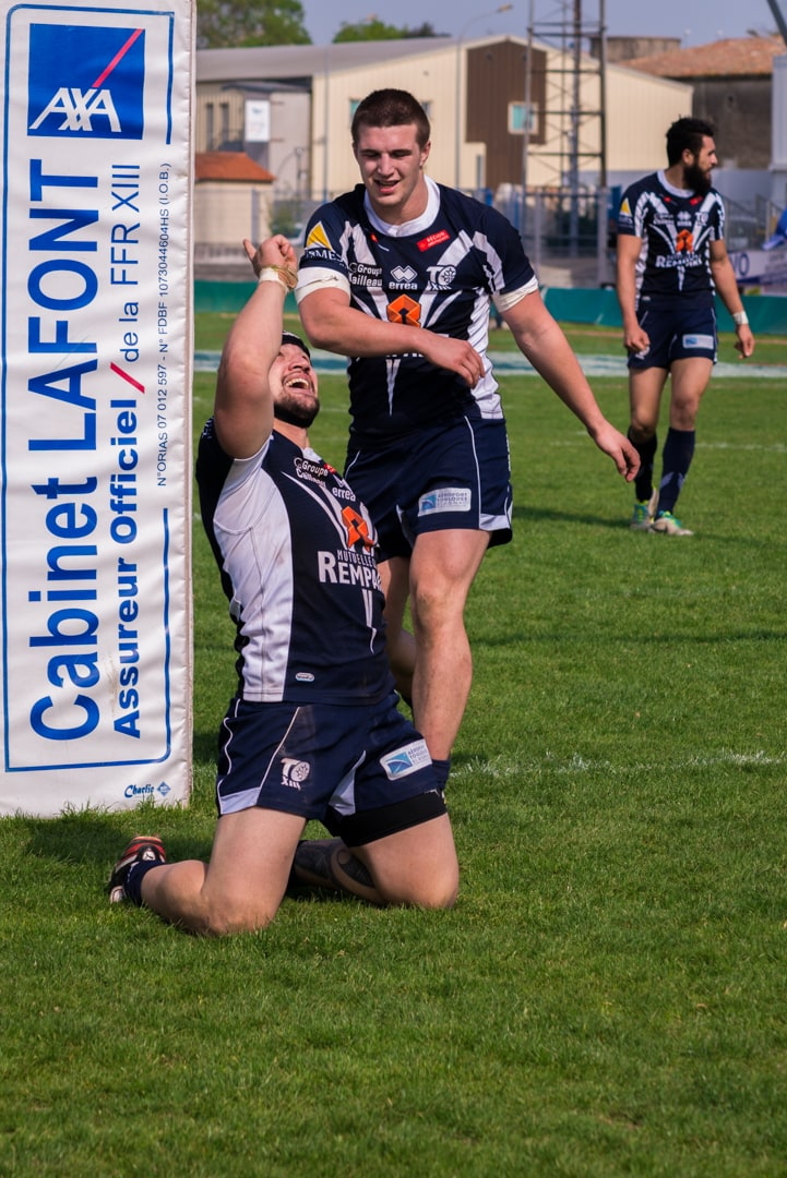 Photo de la finale de la coupe de France de Rugby à XIII : Toulouse - Carcassonne 17