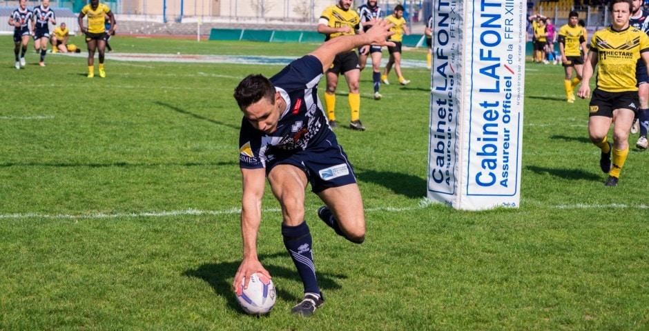 Photo de la finale de la coupe de France de Rugby à XIII : Toulouse - Carcassonne 16