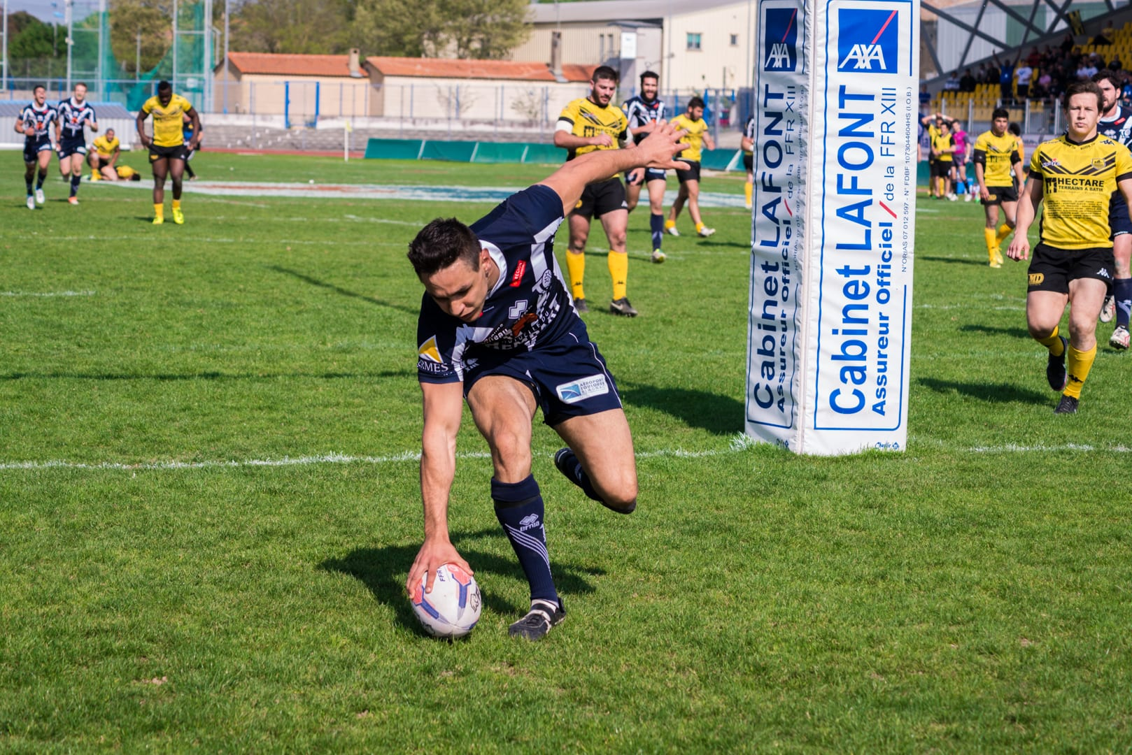 Photo de la finale de la coupe de France de Rugby à XIII : Toulouse - Carcassonne 16