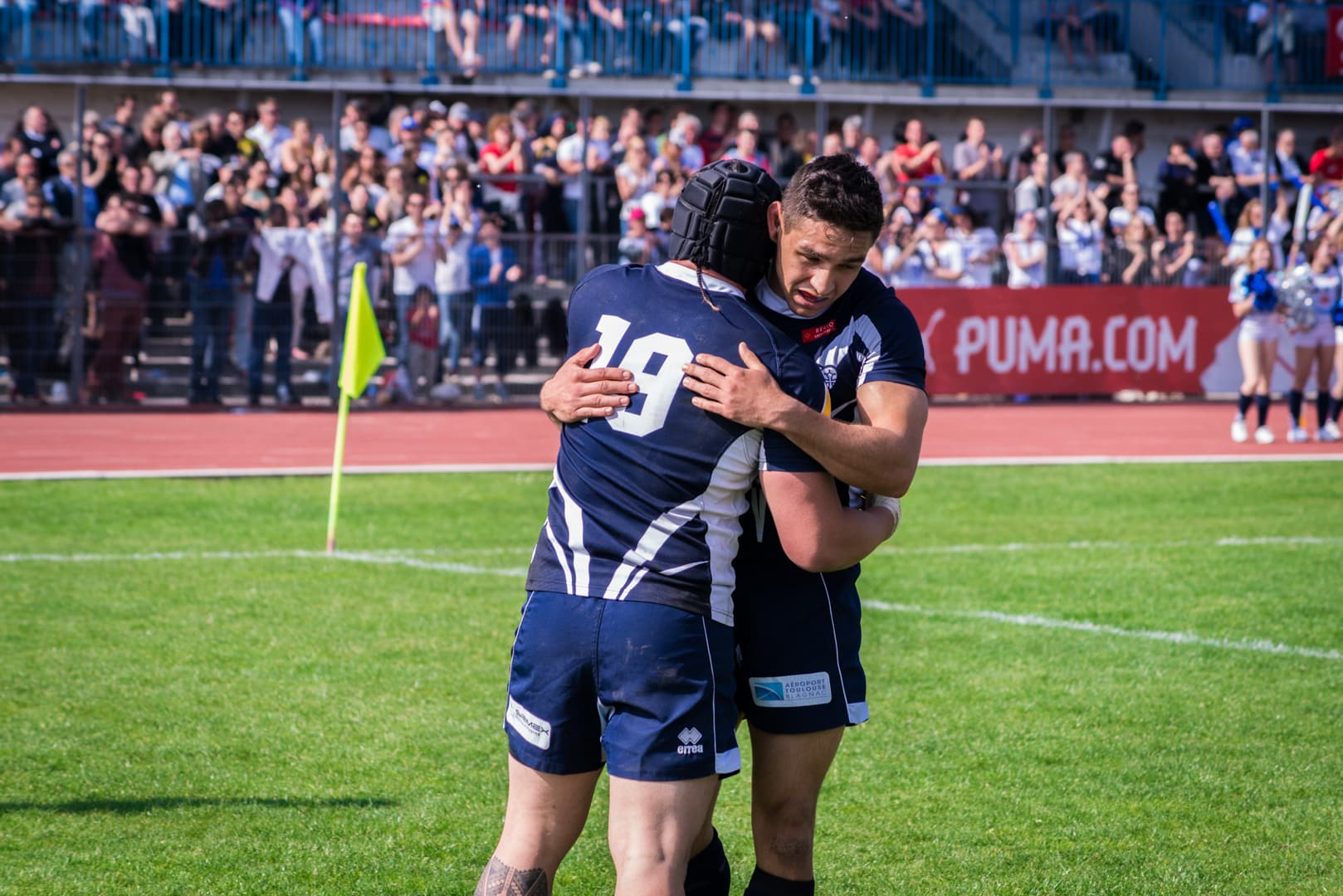Photo de la finale de la coupe de France de Rugby à XIII : Toulouse - Carcassonne 15