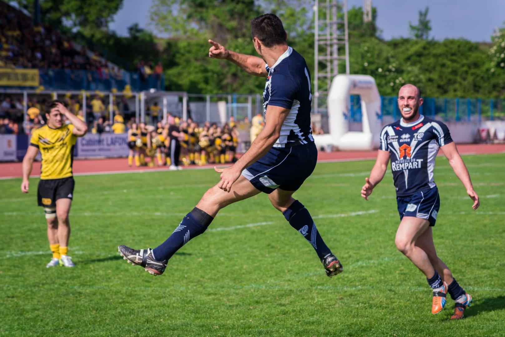 Photo de la finale de la coupe de France de Rugby à XIII : Toulouse - Carcassonne 14