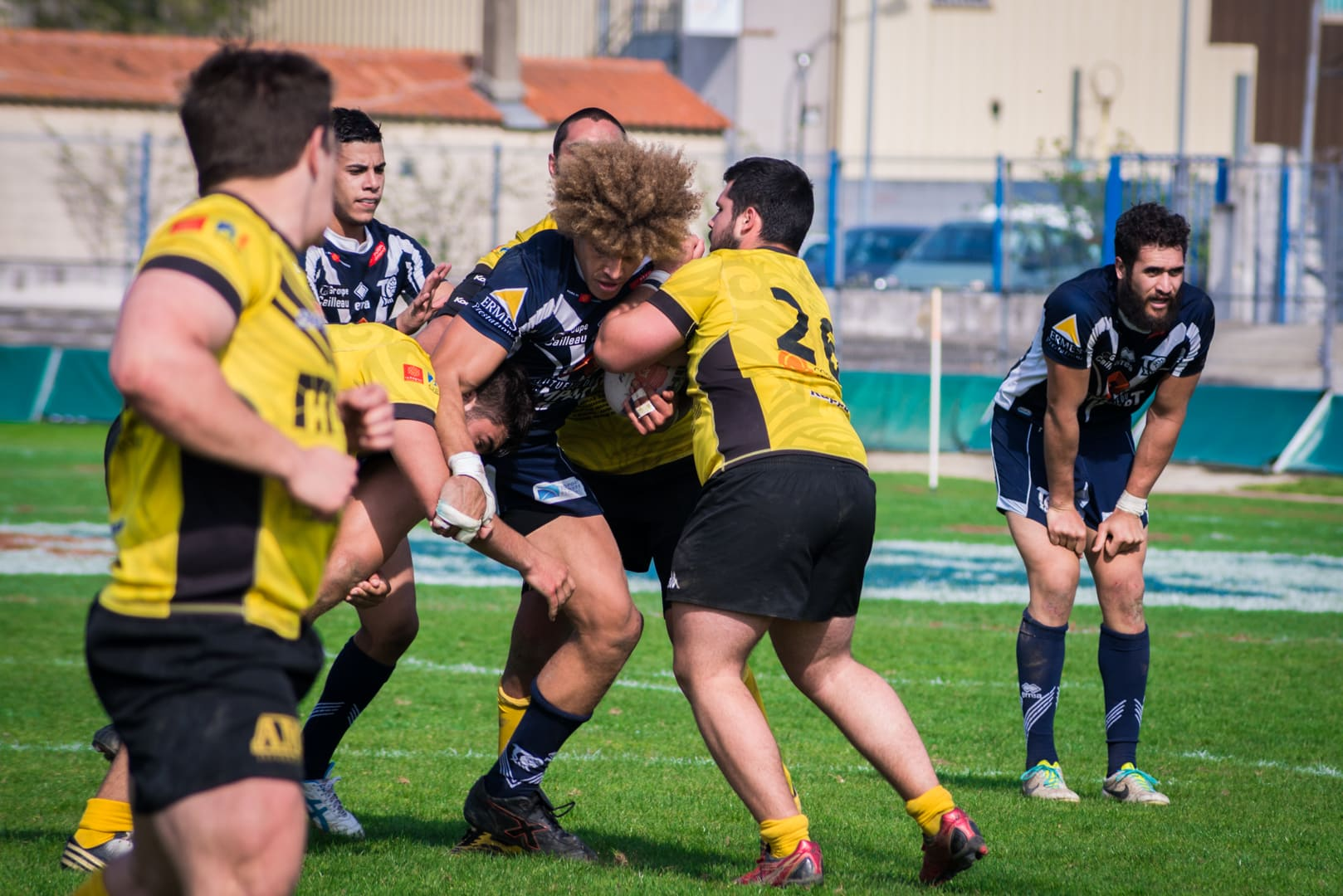 Photo de la finale de la coupe de France de Rugby à XIII : Toulouse - Carcassonne 12