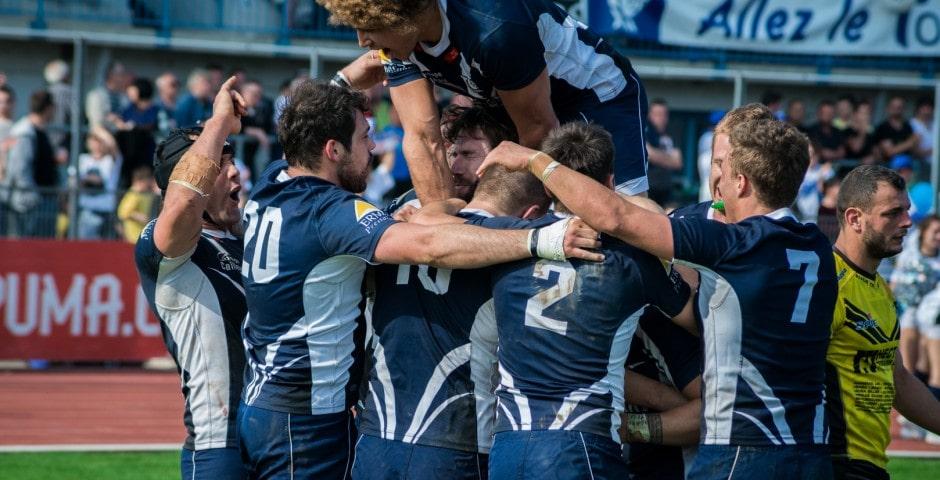 Photo de la finale de la coupe de France de Rugby à XIII : Toulouse - Carcassonne 10