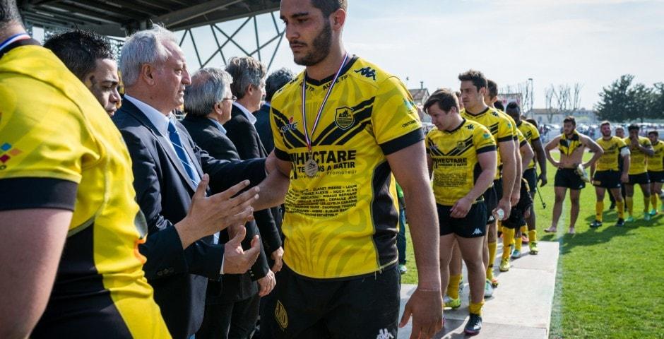 Photo de la finale de la coupe de France de Rugby à XIII : Toulouse - Carcassonne 8