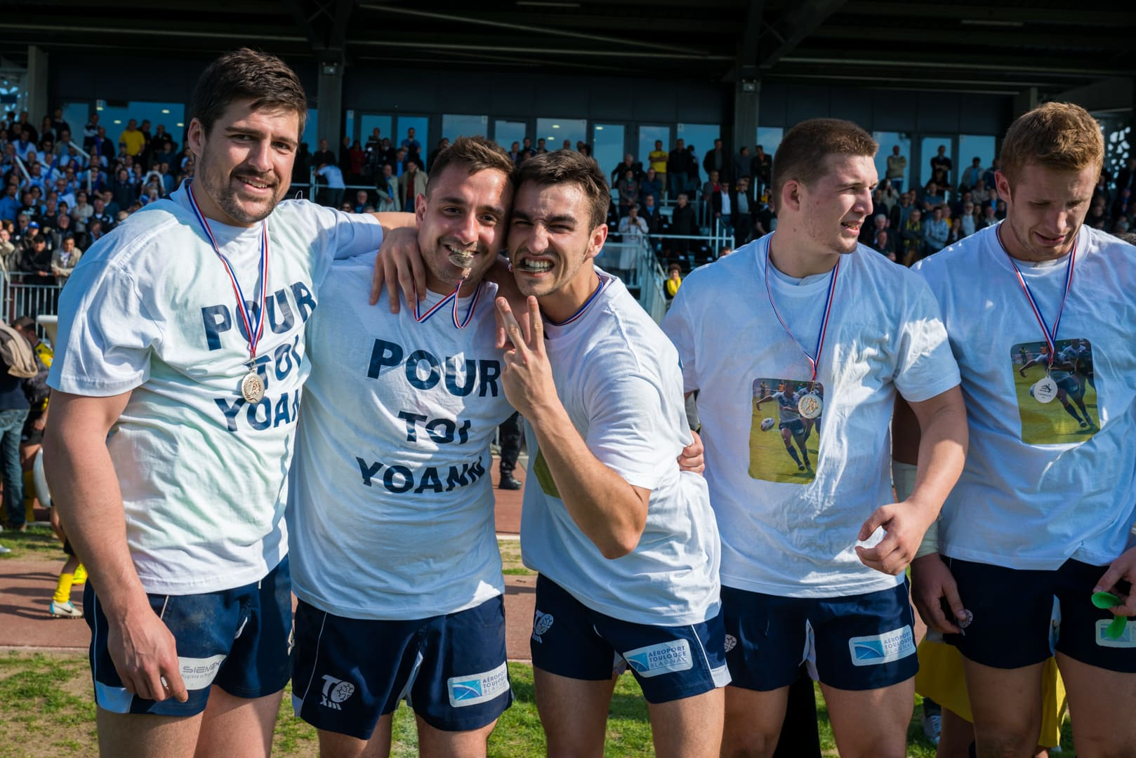 Photo de la finale de la coupe de France de Rugby à XIII : Toulouse - Carcassonne 7