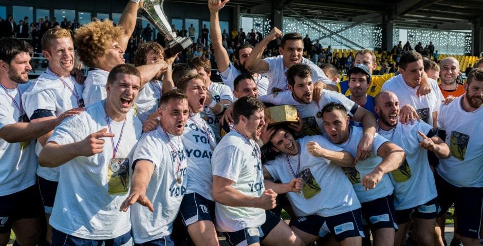 Photo de la finale de la coupe de France de Rugby à XIII : Toulouse - Carcassonne 6