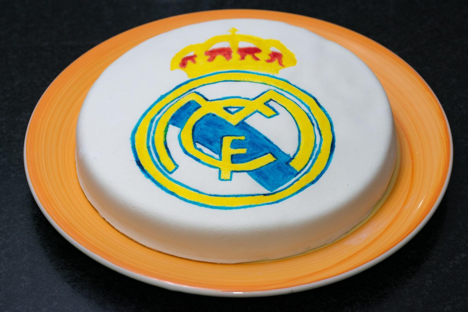 Photo de gâteau du Réal de Madrid 2