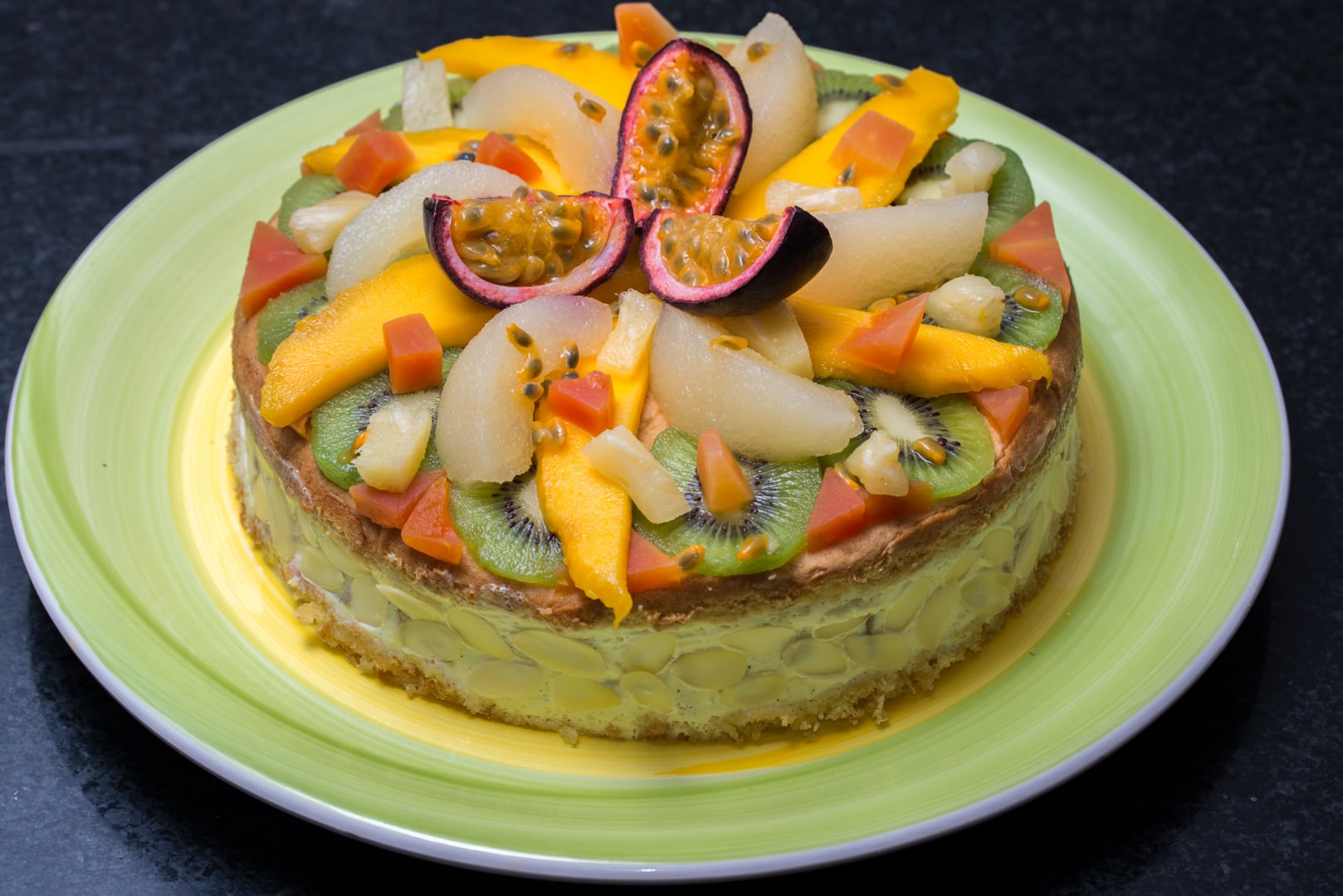 Photo de gâteau au fruit 2