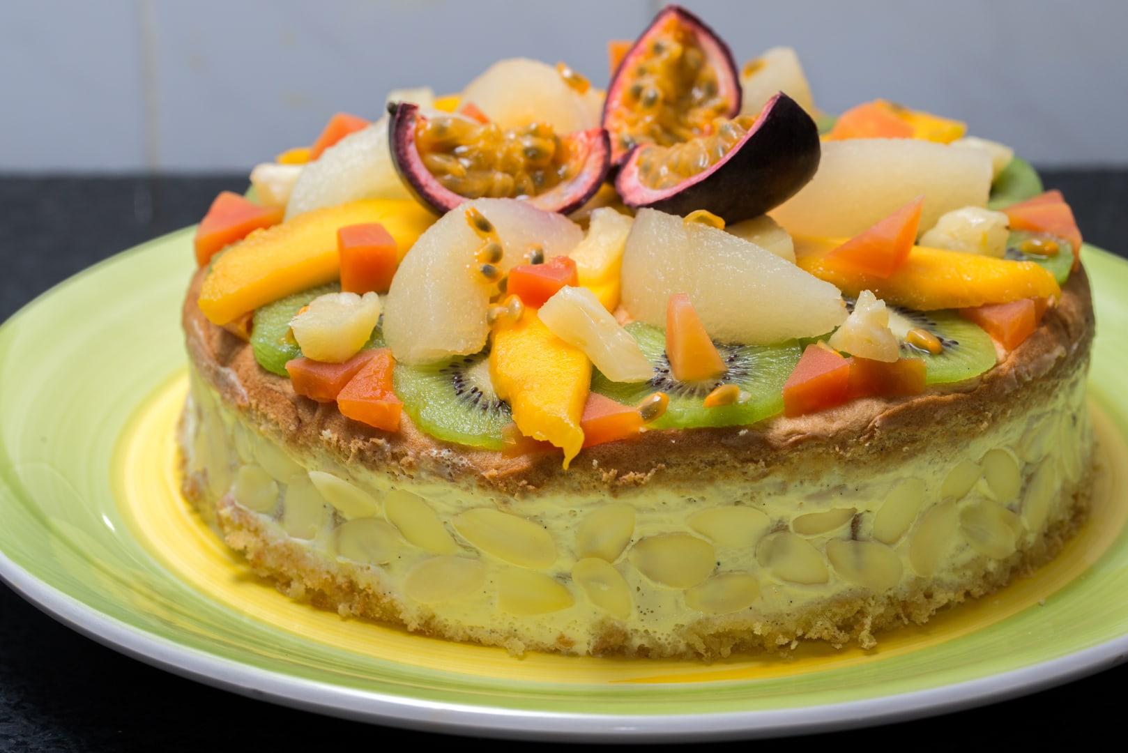 Photo de gâteau au fruit