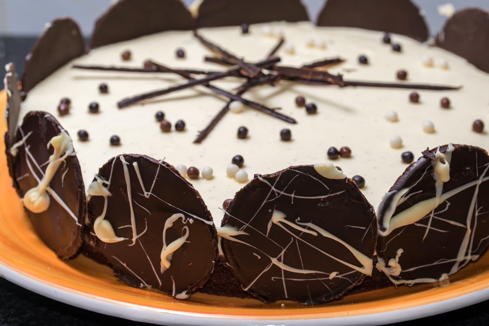Photo de gâteau au chocolat