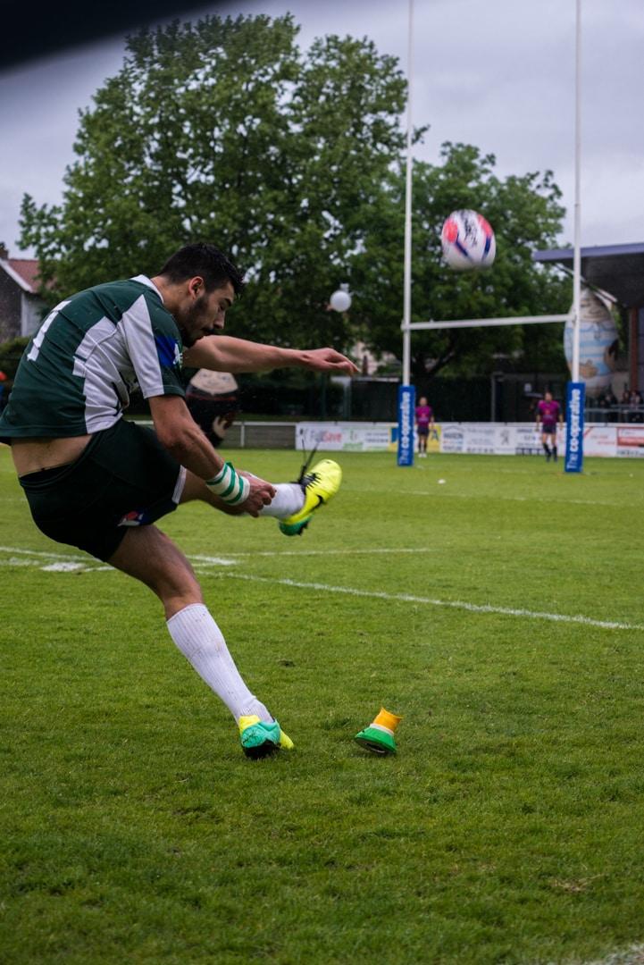 Photo de la demi finale du championnat de France de Rugby à XIII, Toulouse - Villeneuve 22