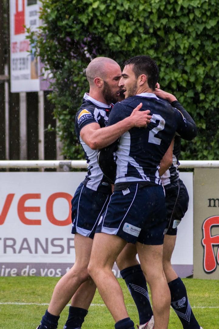 Photo de la demi finale du championnat de France de Rugby à XIII, Toulouse - Villeneuve 18
