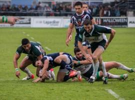 Demi finale de championnat de France de Rugby à XIII.