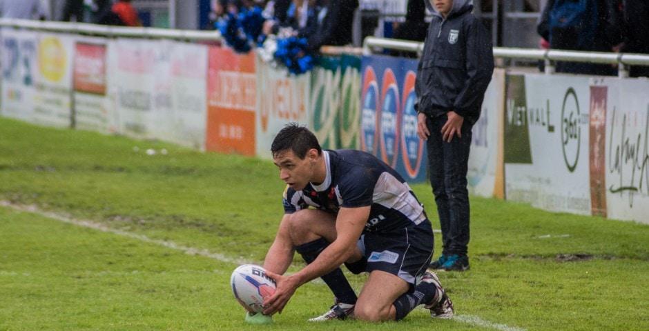 Photo de la demi finale du championnat de France de Rugby à XIII, Toulouse - Villeneuve 15