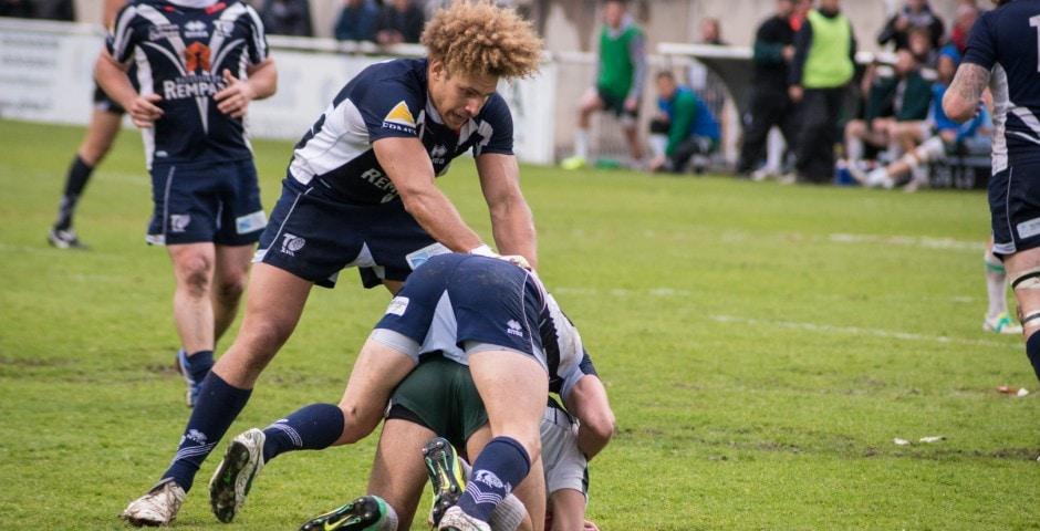 Photo de la demi finale du championnat de France de Rugby à XIII, Toulouse - Villeneuve 11