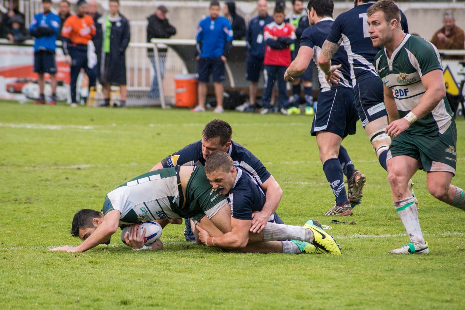 Photo demi finale du championnat de France de Rugby à XIII, Toulouse - Villeneuve