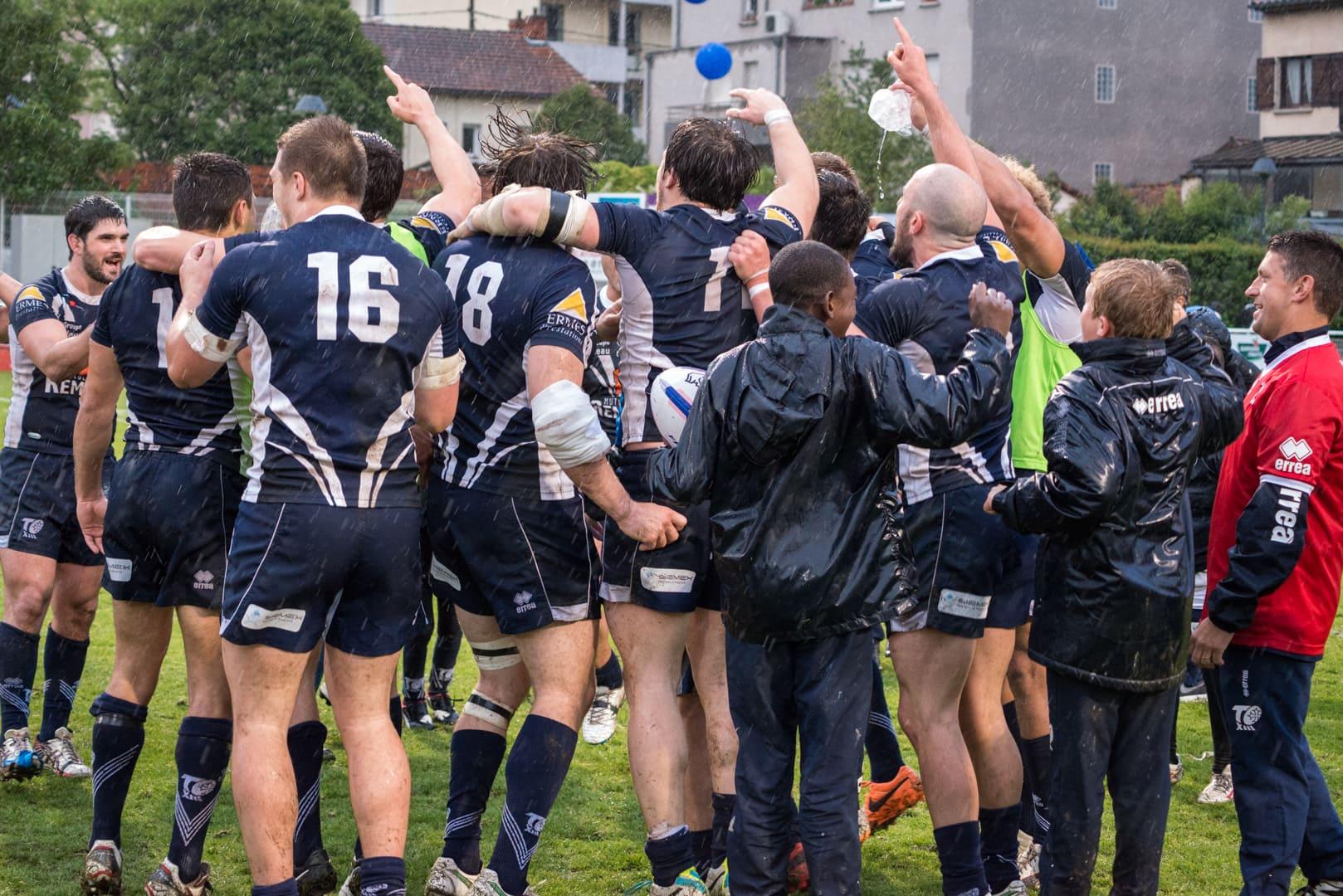 Photo de la demi finale du championnat de France de Rugby à XIII, Toulouse - Villeneuve 5