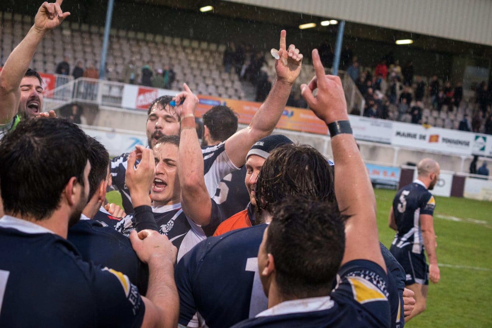 Photo de la demi finale du championnat de France de Rugby à XIII, Toulouse - Villeneuve 4